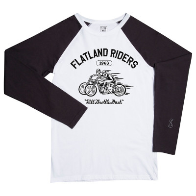 Flatland riders - Stepart bicolor man T-Shirt created by Daniel Sheridan