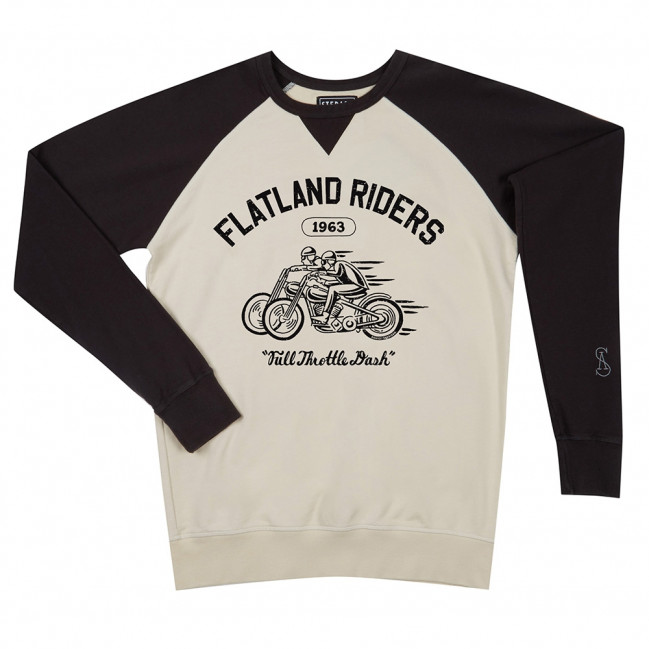 Flatland riders - Stepart bicolor man Sweatshirt created by Daniel Sheridan