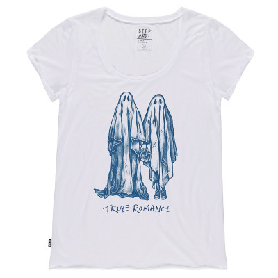 True romance - Stepart woman T-Shirt created by Lloyd Stratton