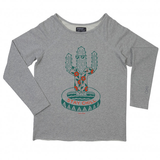 Stay chill - Stepart woman Sweatshirt created by Luke Lieske