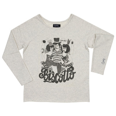 Biscotto - Stepart woman Sweatshirt created by Camille Lavaud