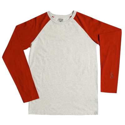 Red & Chantilly - Ligne basique Stepart - T-Shirt rouge et chantilly