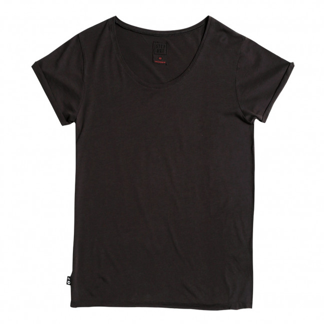 Black used - Stepart basic line T-Shirt for women