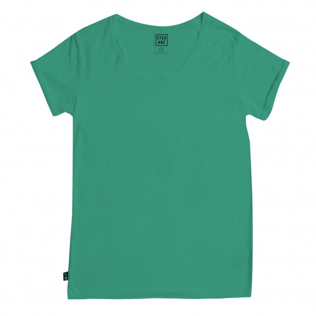 Old Green - Stepart basic line - Woman T-Shirt