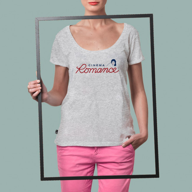 Cinema Romance - Stepart woman T-Shirt created by Thavai