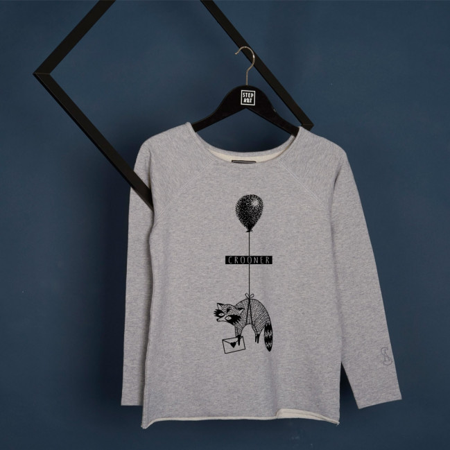 Crooner - Woman Sweatshirt by Ophélie Taki - Stepart
